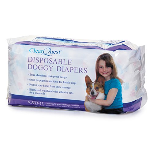 ClearQuest Disposable Dog Diapers