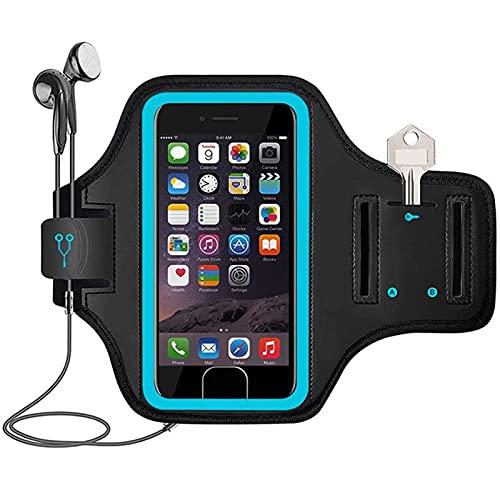 surfsexy Soporte para teléfono para correr, bolso de muñeca, soporte para teléfono, impermeable, para hombres y mujeres, deportes al aire libre, correr, ciclismo, gimnasios