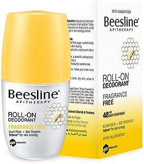Beesline Whitening Roll-On Deodorant, Fragrance Free