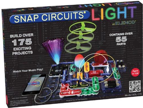 Elenco SnapCircuits Light Electronics Exploration Kit