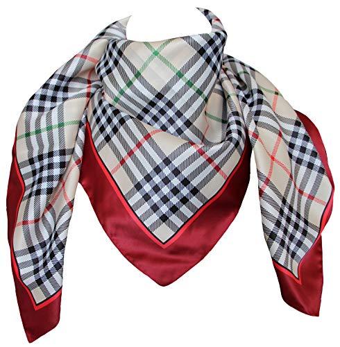 tessago foulard dis 27421 lana 100/% variante moro misura cm 80 X 80