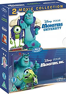 Monsters Inc. / Monsters University [Blu-ray] [2001] [Region Free] (B00F89W2JA) | Amazon price tracker / tracking, Amazon price history charts, Amazon price watches, Amazon price drop alerts