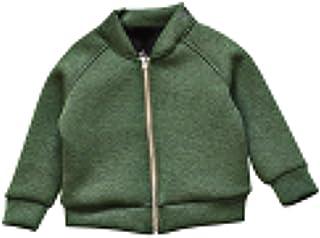 [FERE8890] 男の子 コート カジュアル キッズ ジャケット 可愛い トップス 野球服 立ち襟 無地 字母 果物 プリント ファスナーコート
