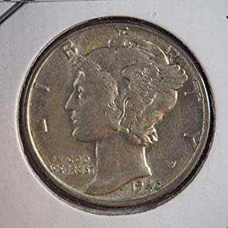 1940 P Mercury Dime Silver Dimes Ungraded