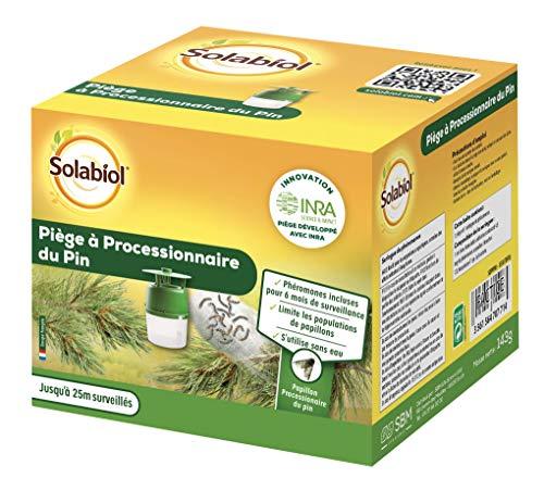 Solabiol Sopipin Processionario del pino - Trappola per feromone, verde, 14 x 14 x 12 cm