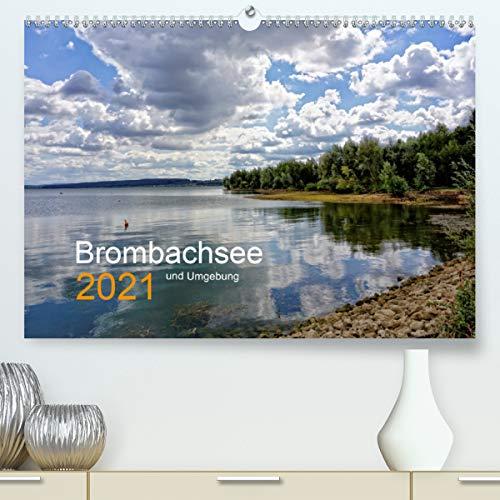Brombachsee und Umgebung (Premium, hochwertiger DIN A2 Wandkalender 2021, Kunstdruck in Hochglanz)