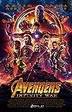 Avengers Infinity War Poster Movie 12x18 inches Main Print Frameless Art Gift