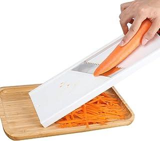 Trancheuse Mandoline coupe-légumes Veggie Dicer Shredder cuisine à usages multiples pommes de terre de coupe à 3 vitesses ...