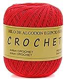 Hilo de Algodon para Tejer Crochet Ganchillo o Punto Torrijo PERLE XXL No 5 70g, Ovillo de algodón perle Suave para Tejer | 1 Unidad, Color 43297