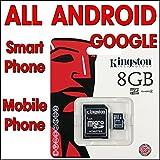 Micro SD 8GB SDHC per Samsung Galaxy S2 S3 S4 S5 Samsung Galaxy Note2 Note3 Samsung Digital Camera Sony xperia Z Z C6603 XPERIA Z1 Xperia Z1 C6903 Xperia Z2 D6503 SmartPhone SONY XPERIA Z ULTRA C6833 4G LTE HTC Desire HTC One HTC One Mini HTC One M8
