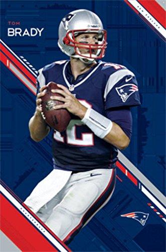 New England Patriots Tom Brady Poster Drucken (60,96 x 91,44 cm)