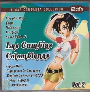 Las Cumbias Colombianas Vol 2 Lizandro Meza Tania Mike Y Kaure Los Telez Alquimia La Sonora Del Y Muchos Mas 2 Cd's 40 Canciones.. by N/A (0100-01-01)