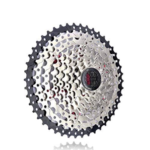 Cassette VTT 8 9 10 11 12 Vitesses 32/36/40/42/46/50 / 52T pignon de Roue Libre de vélo de Montagne pour Shimano SRAM SUNRACE 9S 11-46T