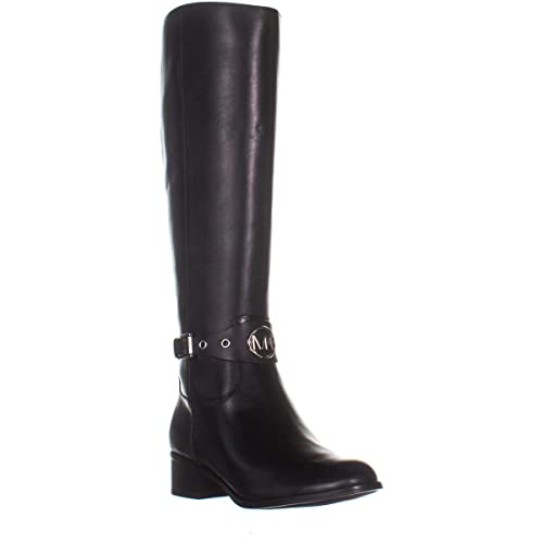 5fd6ca321f3f MICHAEL Michael Kors Womens Heather Knee-High Boots Black