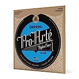 D'Addario EJ46 Pro Arte Hard Clear Classical Guitar Strings, Set