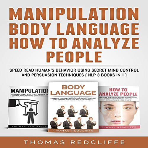 Manipulation, Body Language, How to Analyze People cover art