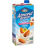Blue Diamond Almonds Breeze Dairy Free Almondmilk, Vanilla, 384 Fl Oz...