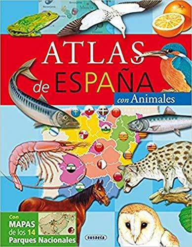 Atlas De España Con Animales (Atlas Infantiles)