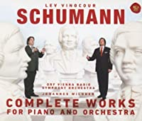 Schumann: Complete Works for Pno & Orch by VINOCOUR / ORF VIENNA SYM ORCH / WILDNER (2013-06-05)