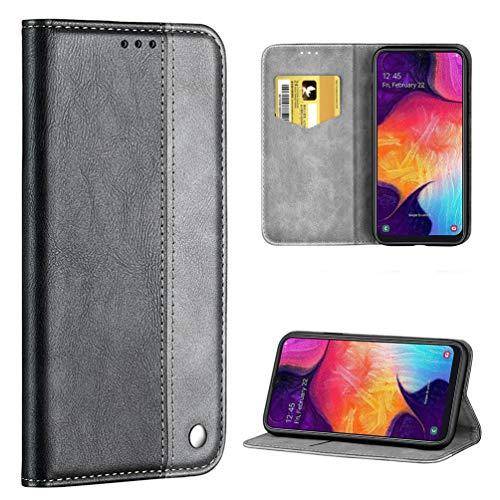 ToneSun - Funda de Piel con Tapa para Samsung Galaxy A50, Multifuncional, diseño de Cartera