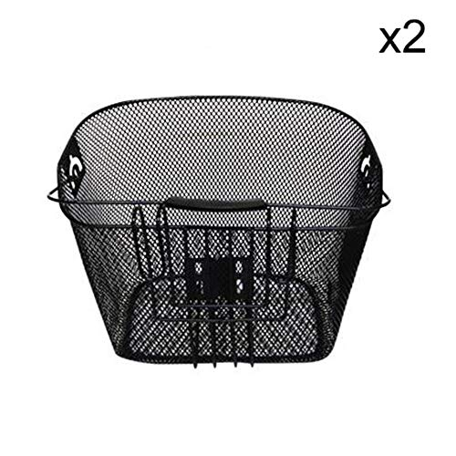 Buy Discount Crystalzhong-sp Bike Basket Quick Release Basket Designed for Front of Bicycle/Bike Mes...