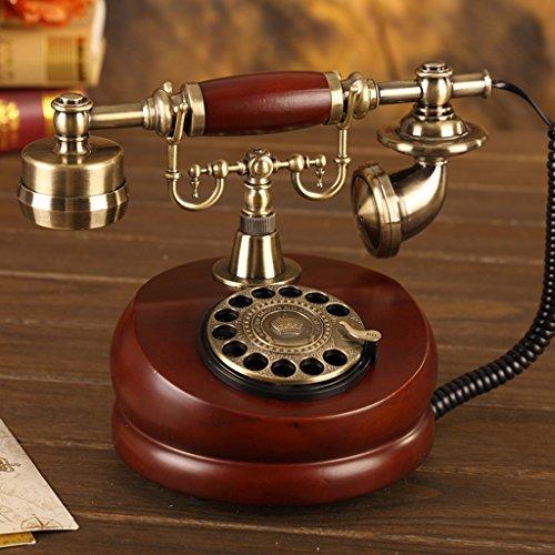 Shopping-De style européen Antique Bois Retro Fashion Creative Téléphone 201