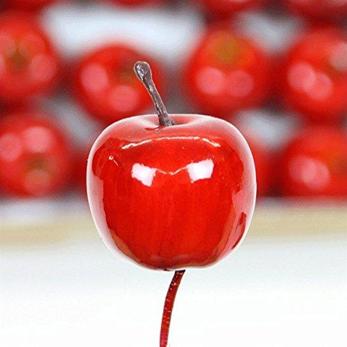Pomme Vernis avec boîte de 24 Fil Rouge 35 mm