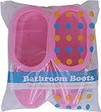 オカザキ バスルームブーツ 25cm ピンク 袋1足