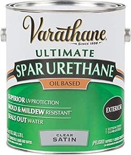 RUST-OLEUM 9332 Varathane Gallon Satin Exterior Spar Urethane