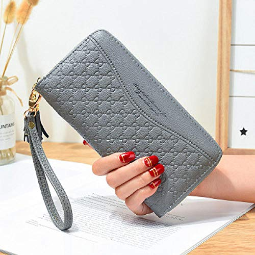 Women Wallets 2021 Long Creative Female Card Holder PU Wallet Coin Purses Girls Envelope Leather Wallet_D-4
