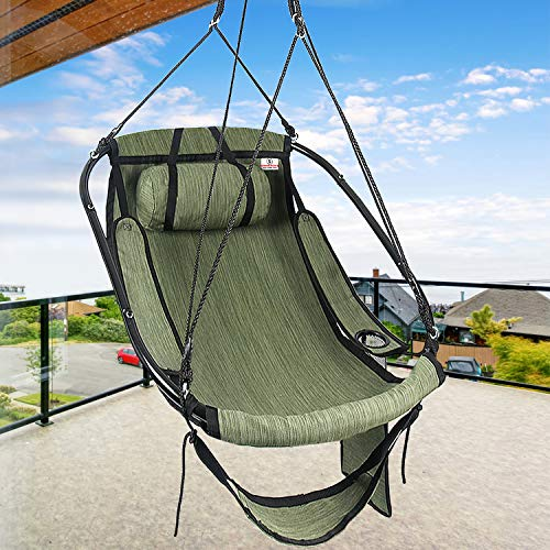 Bathonly Hammock Air Chair with Metal...