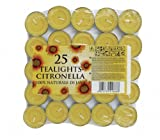 Prices Citronella Tealight Candles Mosquito Fly Insect Repeller by Price's Candles
