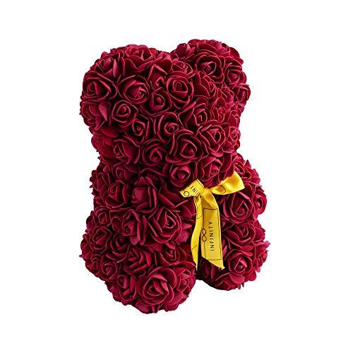 Infinity Flowerbox 6-BS-BG Rosenbär, Burgundy, Small