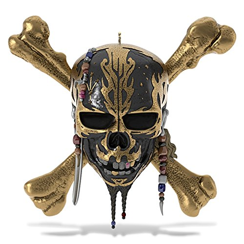 Hallmark Keepsake Christmas Ornament Year Dated 2017 Pirates of the Caribbean Dead Men Tell No Tales with Sound