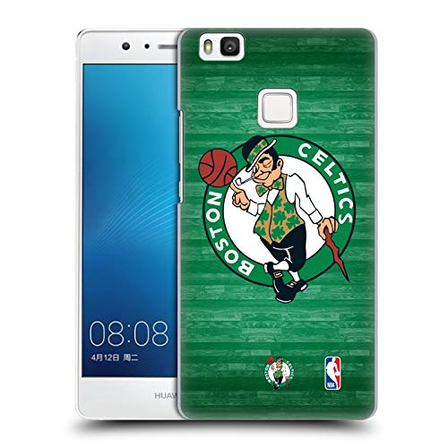 Head Case Designs Oficial NBA Corte de Gran tamaño Boston Celtics 3 Carcasa rígida Compatible con Huawei P9 Lite / G9 Lite