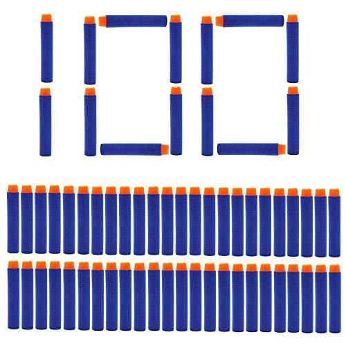 Romote 100 piezas nicebuty Dardos Dardos Para Nerf