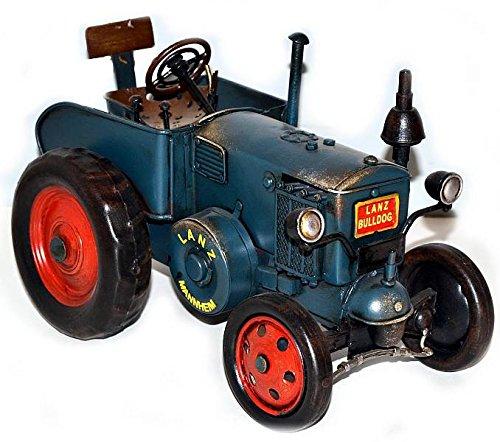 Metallmodell ~ Lanz 1939 grün ~ Oldtimer Traktor Blechmodell 37238 Trecker