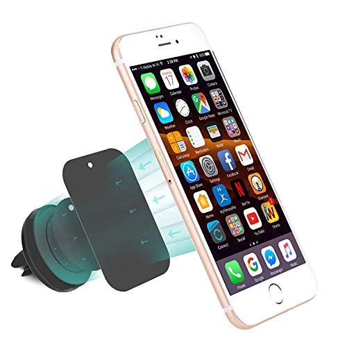 MMOBIEL Universal magnetische Handy-Halterung kompatibel mit Samsung Galaxy iPhone Sony Xperia HTC One Nokia y Otros teléfonos