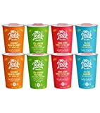 Mr Lee's Instant Ramen Cup Noodles, Gluten Free Rice Noodles, Mixed Box of 4 Flavors (2 of each flavor). Bulk box of 8 x 59g…