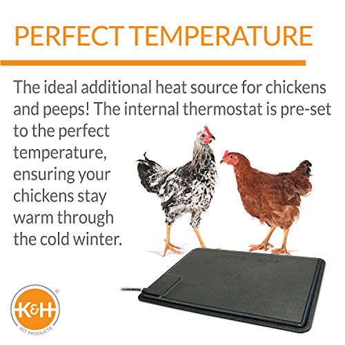 K&H Pet Products Thermo-Chicken Heated Pad...