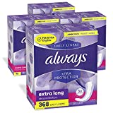 Always Xtra Protection Daily Liners protect with LeakGuard Core + RapidDry to help keep you 5X drier (vs Always Thin Daily Liners) Ideal for light days, tampon back up or daily freshness Dual layer design with absorbing core locks away leaks Edge-2-E...