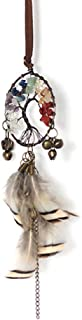 Malicosmile car Dream Catcher for Rear View Mirror, Handmade Small Dream Catchers Car Charm for Interior Rearview Hanging Decorations