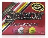 Srixon Distance Golf Balls, Multi-Color (24 Ball Pack)