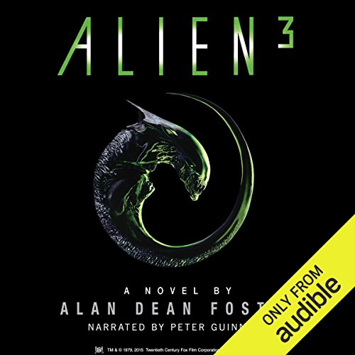 Alien 3 audiobook cover art