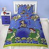 Disney - Juego de ropa de cama con funda de edredón de amigos de Toy...
