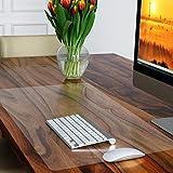 Schreibtischunterlage transparent -2mm dick- klare Antirutschbeschichtung - Wasserdichte Unterlage - Tischschoner - Schreibmatte - Mauspad-60x40cm