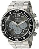 Invicta Men's 'Pro Diver' Quartz Stainless Steel Diving Watch, Color:Silver-Toned (Model: 25073)