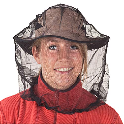 Sea to Summit Mosquito Head Net Mesh Face Cover for Insects and Bugs, with Permethrin