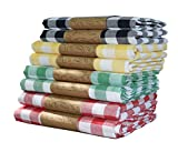 Mugo Manteles de tela 100% algodón, cuadrados, rectangulares, de lino natural, protector de mesa, tamaño pequeño y grande (verde, 140 x 140)