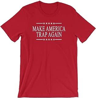 Make America Trap Again Campaign Shirt Cap Hip hop Gucci Mane Kevin Gates Red